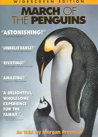 MARCH OF THE PENGUINS BY FREEMAN,MORGAN (DVD)